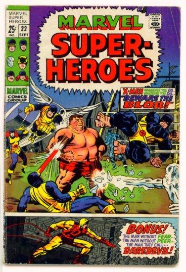 X-MEN Super-Heroes #22 Marvel Comics 1969 GIANT