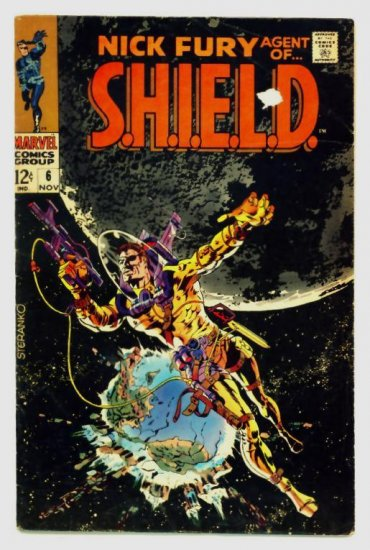 NICK FURY Agent of SHIELD #6 Marvel Comics 1968