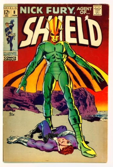 NICK FURY Agent of SHIELD #8 Marvel Comics 1969