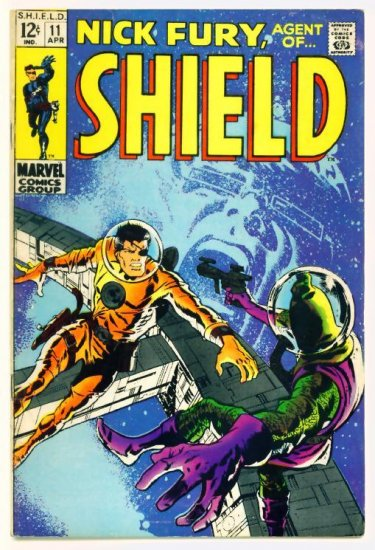 NICK FURY Agent of SHIELD #11 Marvel Comics 1969