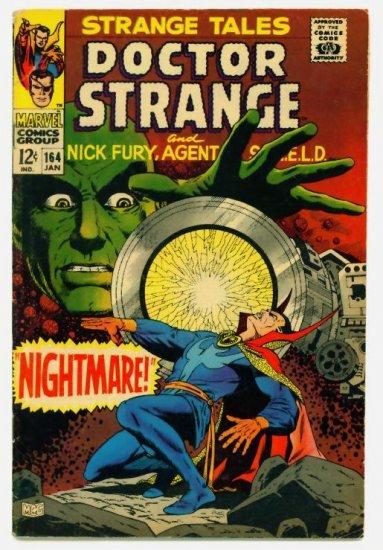 STRANGE TALES #164 Marvel Comics 1968 Steranko