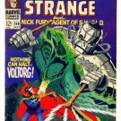 STRANGE TALES #166 Marvel Comics 1968 Doctor Strange Nick Fury