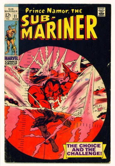 SUB-MARINER #11 Marvel Comics 1969