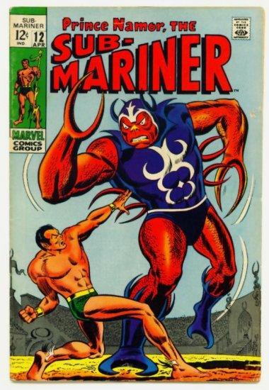 SUB-MARINER #12 Marvel Comics 1969