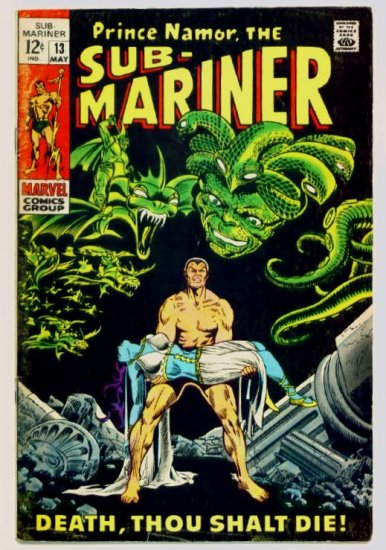 SUB-MARINER #13 Marvel Comics 1969