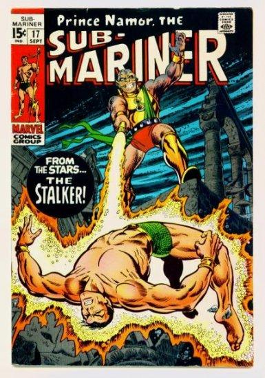 SUB-MARINER #17 Marvel Comics 1969 The Stalker