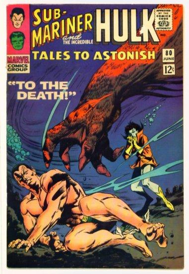 TALES to ASTONISH #80 Marvel Comics 1966 The Hulk