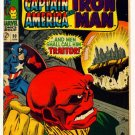 TALES of SUSPENSE #90 Marvel Comics 1967 IRON MAN CAPTAIN AMERICA