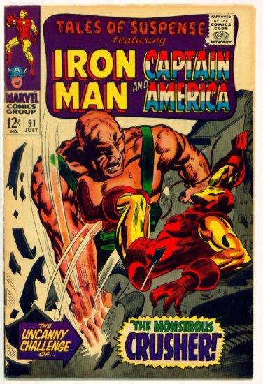 TALES of SUSPENSE #91 Marvel Comics 1967