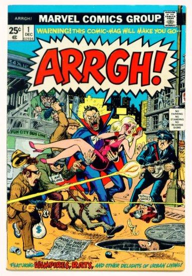 ARRGH ! #1 Marvel Comics 1974