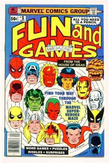 MARVEL FUN & GAMES #1 Marvel Comics 1979