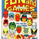 MARVEL FUN & GAMES #1 Marvel Comics 1979