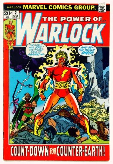 The Power of the WARLOCK #2 Marvel Comics 1972