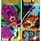 IRON MAN GALACTUS WHAT IF ? #33 Marvel Comics 1982