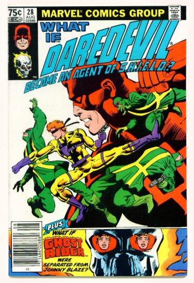 Frank Miller DAREDEVIL WHAT IF? #28 Marvel Comics 1981
