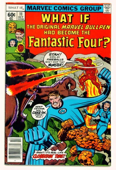 FANTASTIC FOUR WHAT IF? #11 Marvel Comics 1978