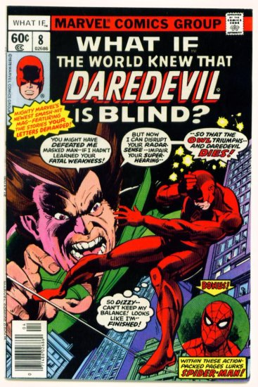 SPIDER-MAN DAREDEVIL WHAT IF ? #8 Marvel Comics 1978