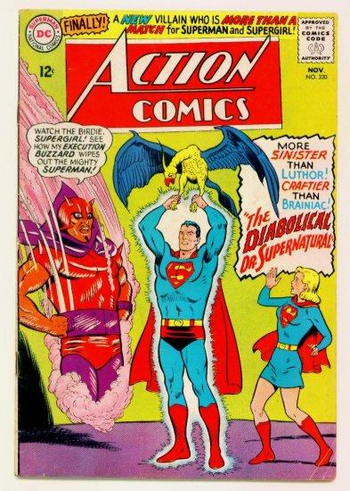 Superman Supergirl ACTION COMICS #330 DC 1965