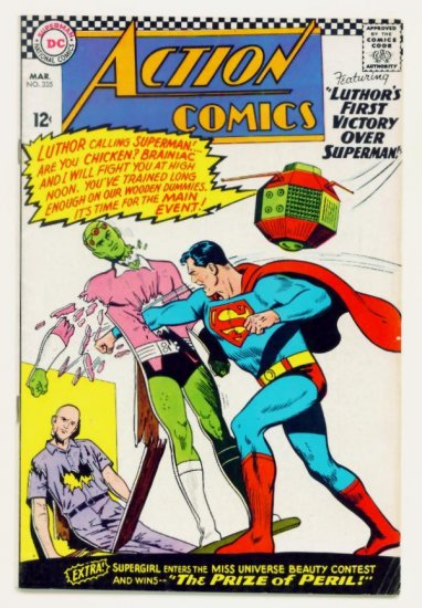 ACTION COMICS #335 DC 1966 Superman Superwoman