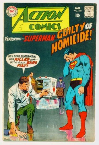 ACTION COMICS #358 DC Comics 1968 Superboy Supergirl