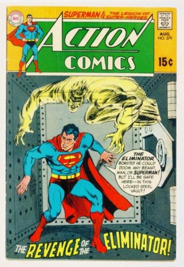 ACTION COMICS #379 DC Comics 1969 Superman LEGION of SUPERHEROES