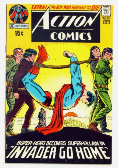 ACTION COMICS #401 DC 1971 Superman VERY FINE