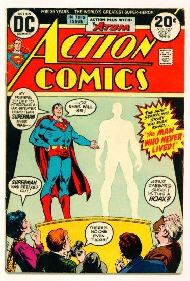 ACTION COMICS #427 DC 1973 Superman The Atom