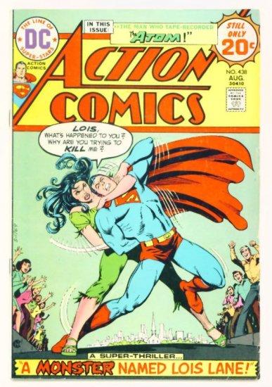 ACTION COMICS #438 DC 1974 Superman & The Atom