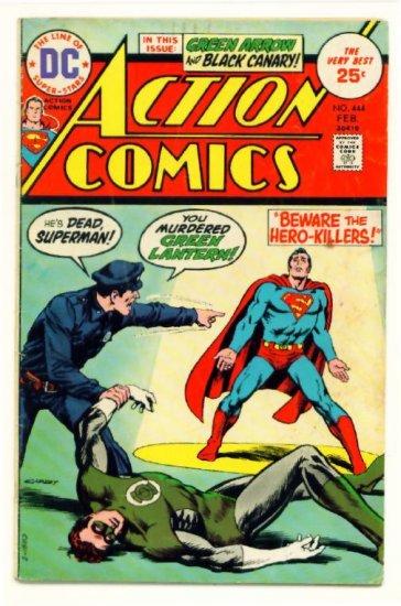 ACTION COMICS #444 DC 1975 Superman Green Lantern
