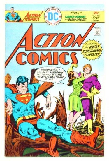 ACTION COMICS #451 DC 1975 Superman Green Arrow