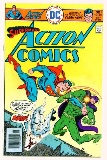 ACTION COMICS #459 DC 1976 Superman & Green Arrow