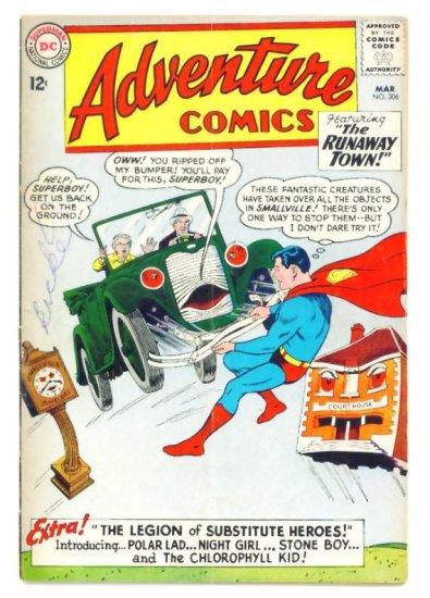 ADVENTURE COMICS #306 DC 1963 Legion of Super-Heroes