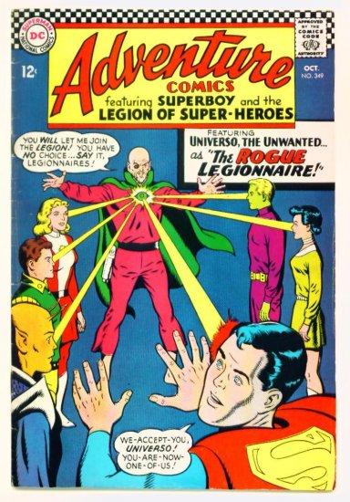 ADVENTURE COMICS #349 DC 1966 Legion of Super-Heroes