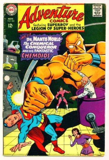 ADVENTURE COMICS #362 DC 1967 Legion of Super-Heroes