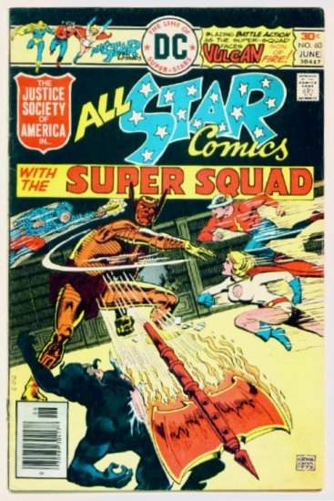 ALL-STAR COMICS #60 DC 1976 Justice Society of America