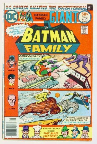 BATGIRL BATMAN FAMILY #6 DC Comics 1976 GIANT