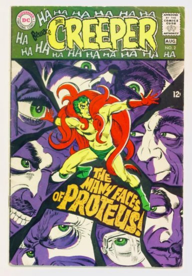 Beware The CREEPER #2 DC Comics 1968 Steve Ditko