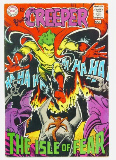 Beware The CREEPER #3 DC Comics 1968 Steve Ditko