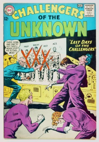 CHALLENGERS of the UNKNOWN #37 DC Comics 1964