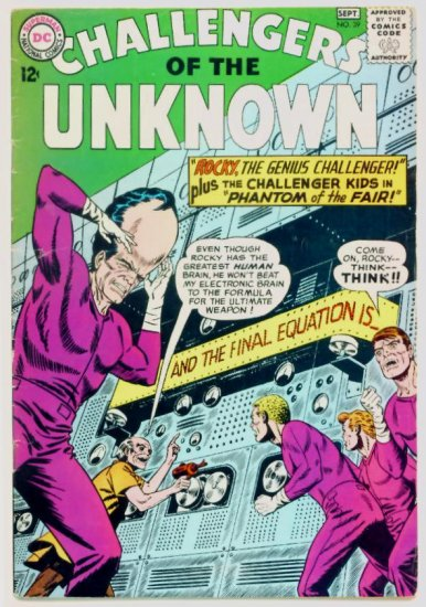 CHALLENGERS of the UNKNOWN #39 DC Comics 1964