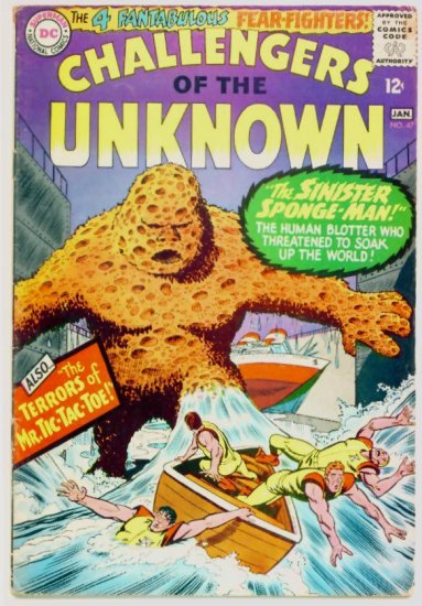 CHALLENGERS of the UNKNOWN #47 DC Comics 1965