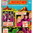 CHALLENGERS of the UNKNOWN Super DC Giant S-25 Jack Kirby