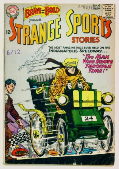 STRANGE SPORTS STORIES The Brave and the Bold #48 DC Comics 1963