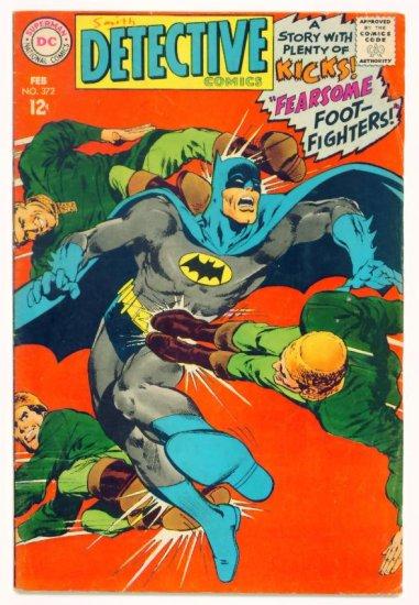 DETECTIVE COMICS #372 DC 1968 Batman
