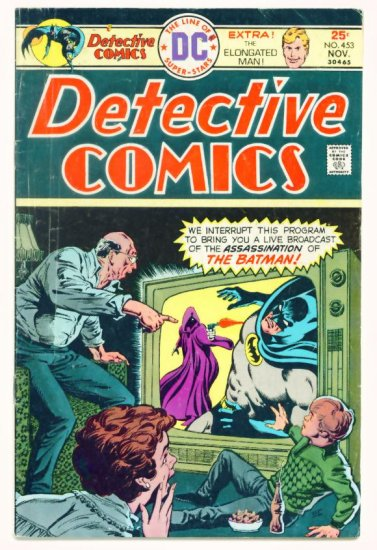 DETECTIVE COMICS #453 DC 1976 Batman Elongated Man