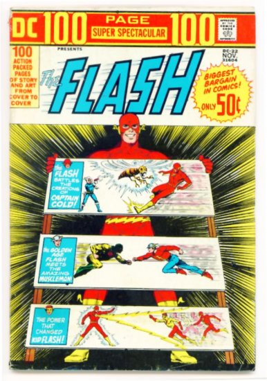 The FLASH 100 PAGE GIANT SUPER SPECTACULAR #22 DC COMICS 1973