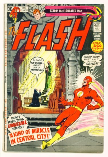 The FLASH #208 DC Comics 1971 GIANT