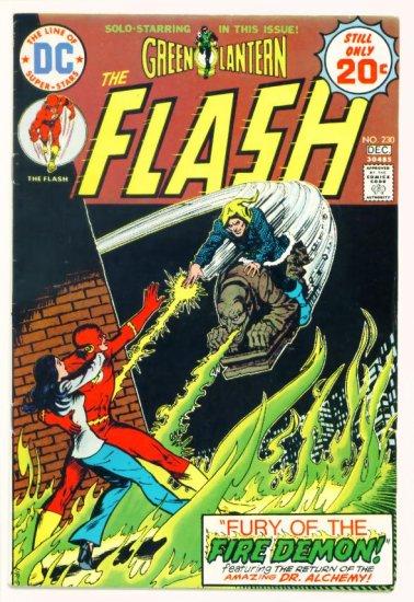 The FLASH #230 DC Comics 1974 Green Lantern
