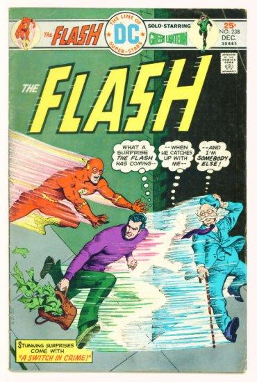 The FLASH #238 DC Comics 1975 Golden Age Flash Co-stars