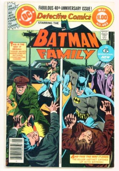 DETECTIVE COMICS #483 DC 1979 Batman Batgirl Dollar Giant